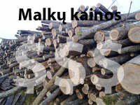 Malkų kainos Kaune